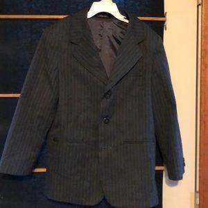 ☀️Dillard's Charcoal Pinstripe Boys 10 Sport Coat